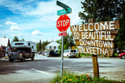 Downtown Talkeetna Photo by Chris Boese on Unsplash