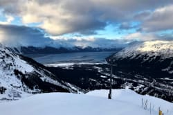 View of Girdwood from atop Mt. Alyeska Photo by Bruce Warrington on Unsplash