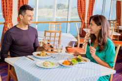 Couple dining, Celestyal Crystal