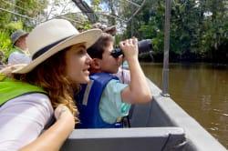 Canoe photo by MV Manatee ©Anakonda Amazon Cruises