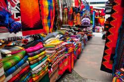 Textiles, Otavalo Market