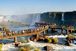 Iguazú Falls platform
