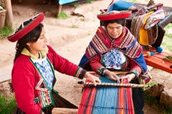 Women weaving, Chinchero