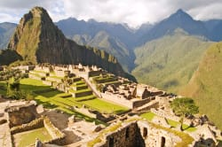 Machu Picchu in the late afternoon