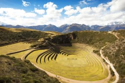 Inca terraces, Moray