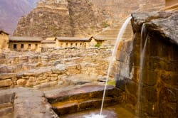 Ollantaytambo fountain