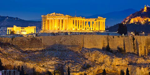 Athens, Naxos & Santorini Adventure