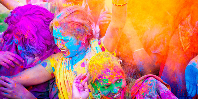 A Taste of India & Holi, Festival of Colors