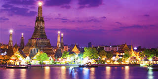 Wat Arun & the Chao Phraya River