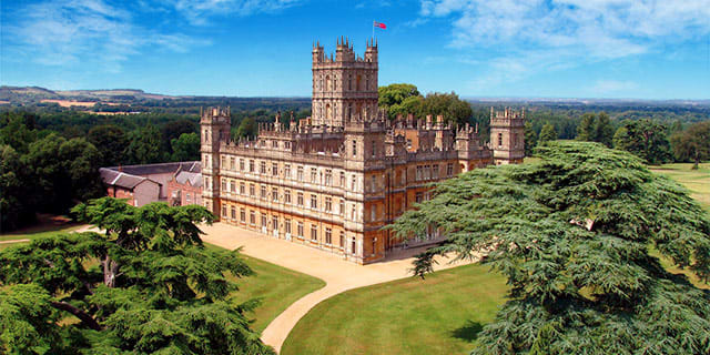 Downton Abbey Christmas Ball with London