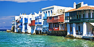 """Little Venice,"" Mykonos"