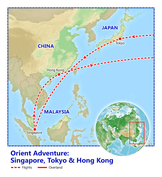 Orient Adventure map