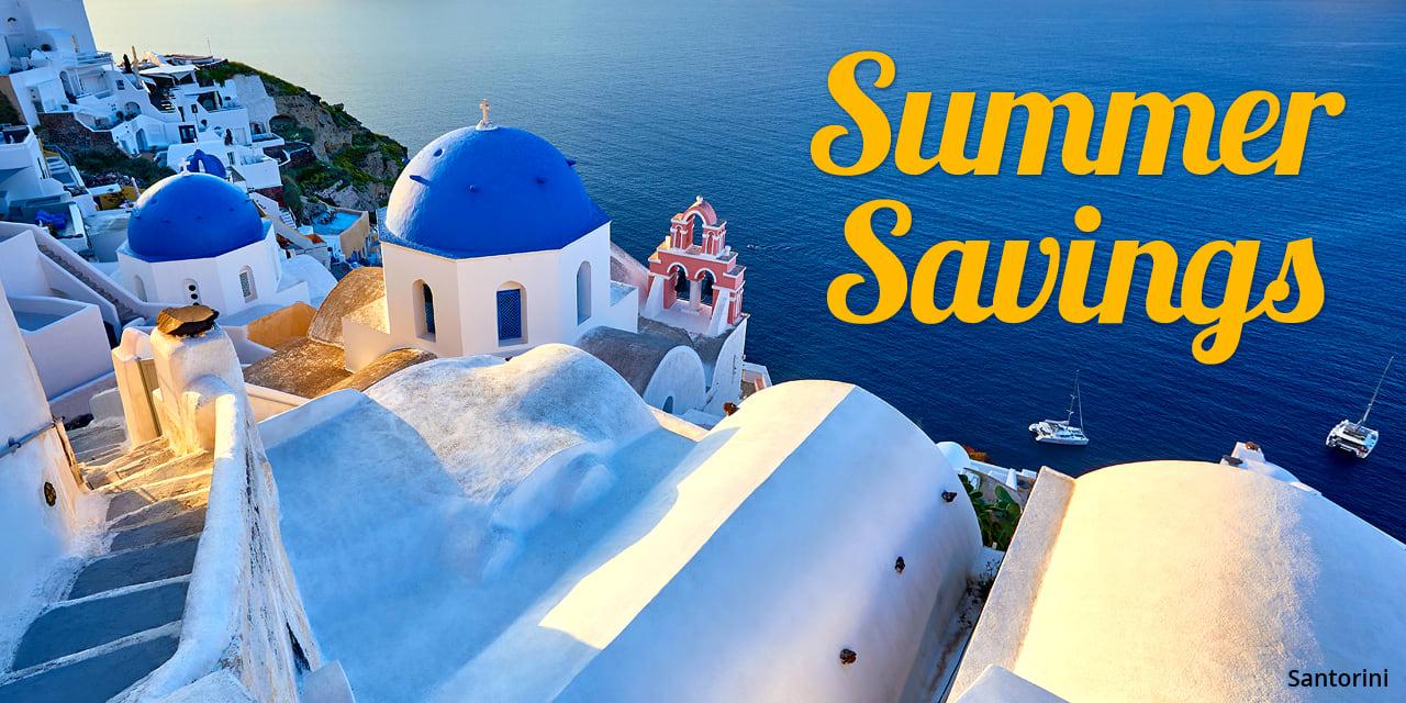 Europe Flash Sale: Santorini, Greece