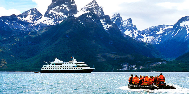 Patagonian Explorer by Sea