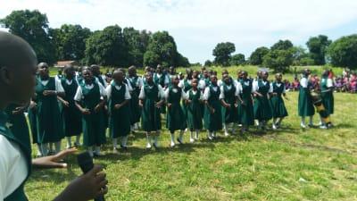 IGBS Girls School Singing-2