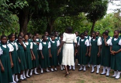 IGBS Girls School Singing