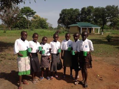 Breakfast at Ibba Girls School