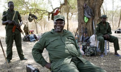 Riek Machar, South Sudan's former vice-president