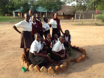 Ibba Girls School Students