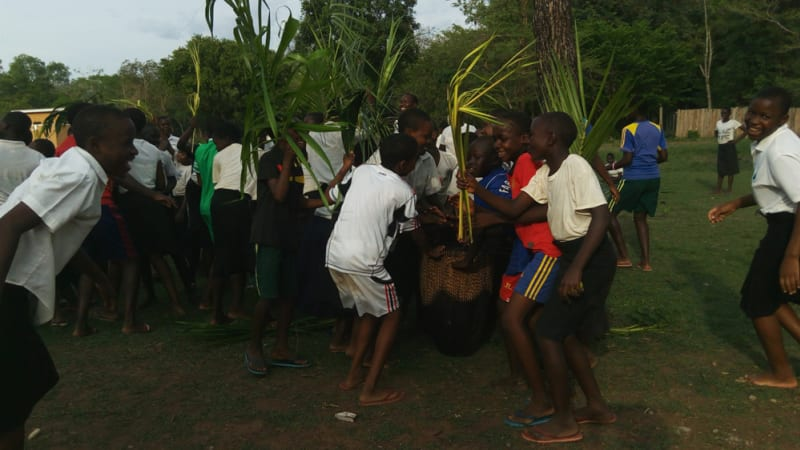 Palm Sunday at Ibba Girls School-2