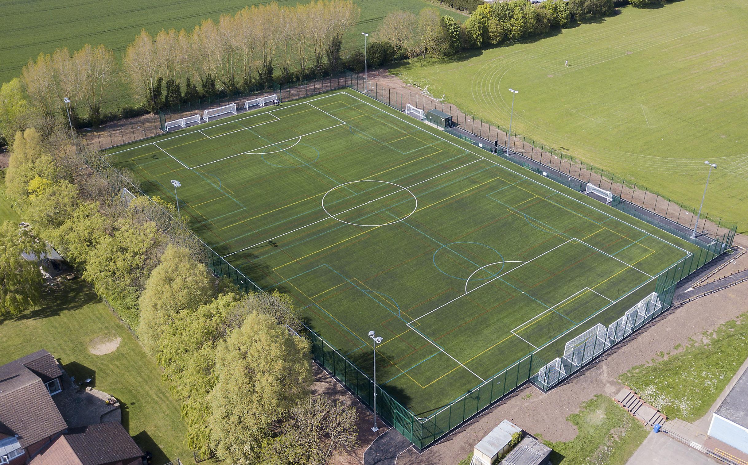5G Football Field