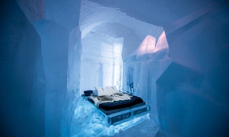 ICEHOTEL, SUÉCIA