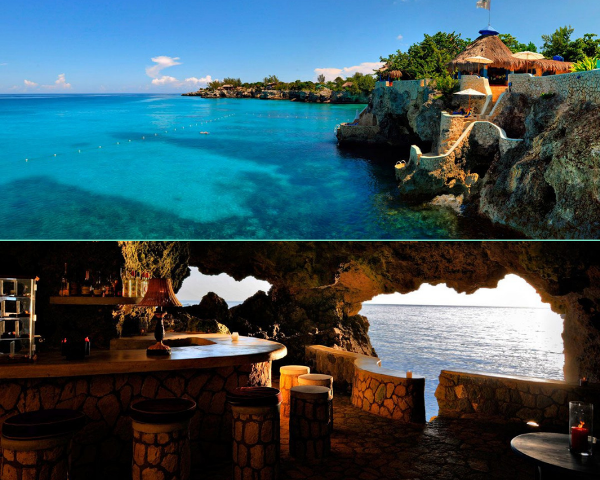 THE CAVES HOTEL, JAMAICA