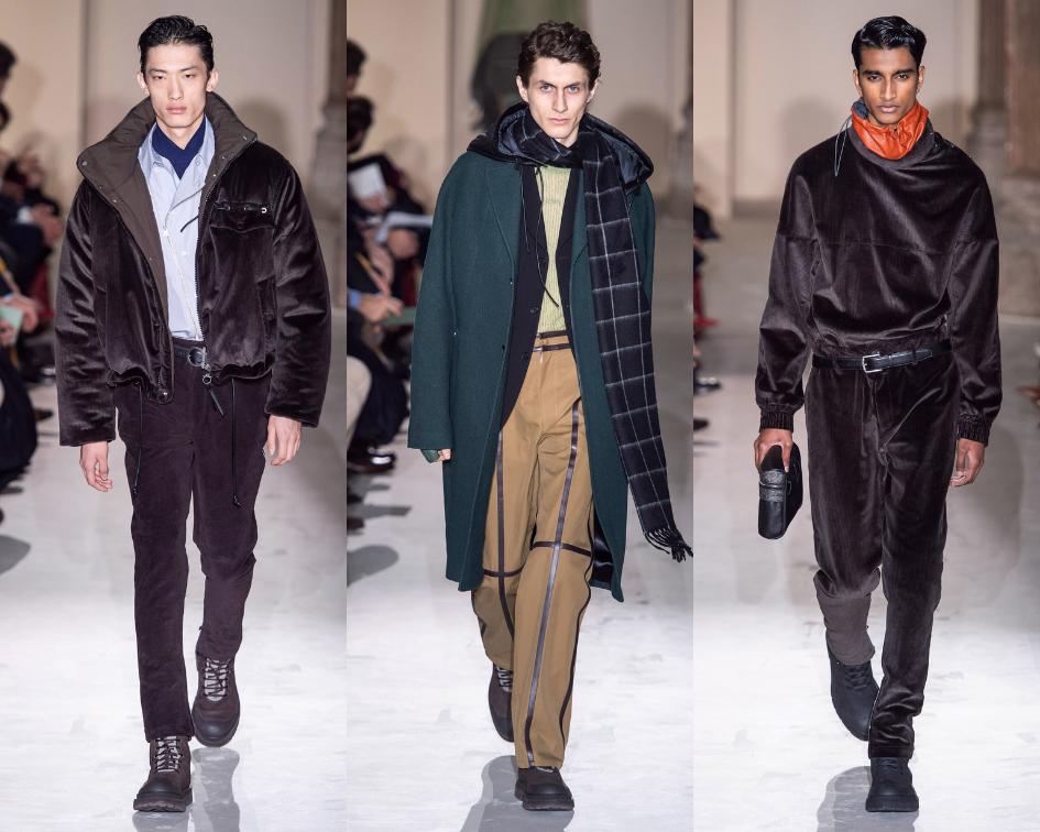 SALVATORE FERRAGAMO - - Moda Masculina luxuosa para o Outono/Inverno 2019