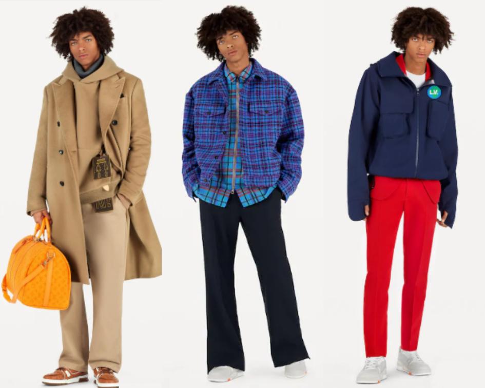 LOUIS VUITTON - Moda Masculina luxuosa para o Outono/Inverno 2019