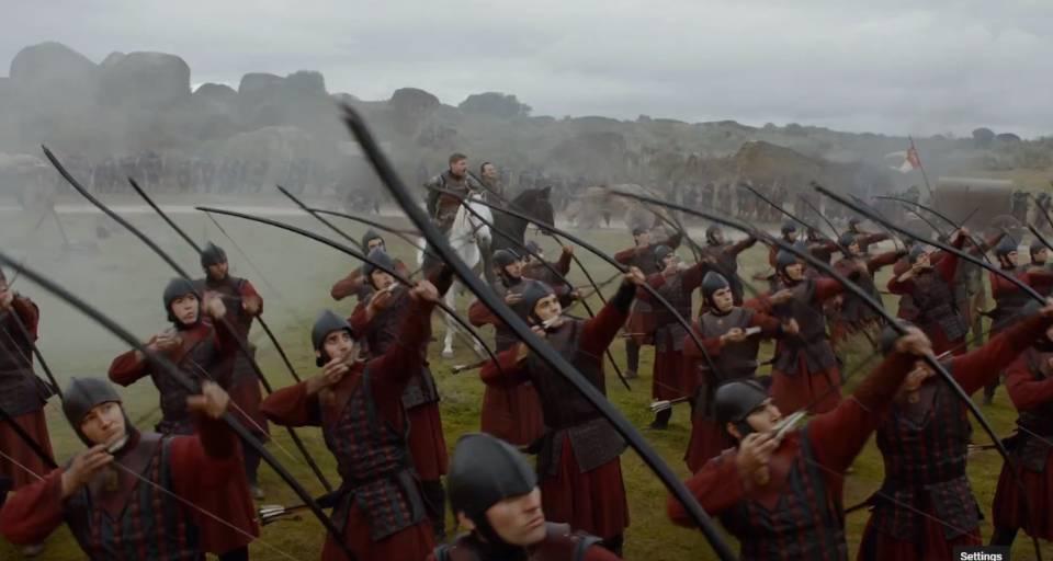 Jamie dan Bronn mengomando perang