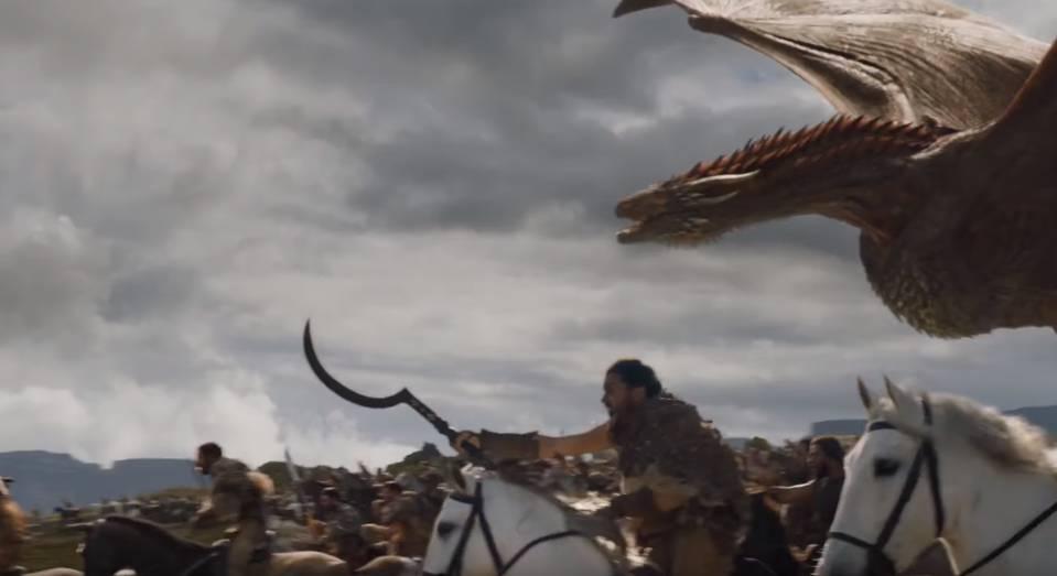 Dothraki dan Drogon