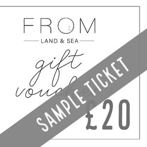 A sample gift voucher image