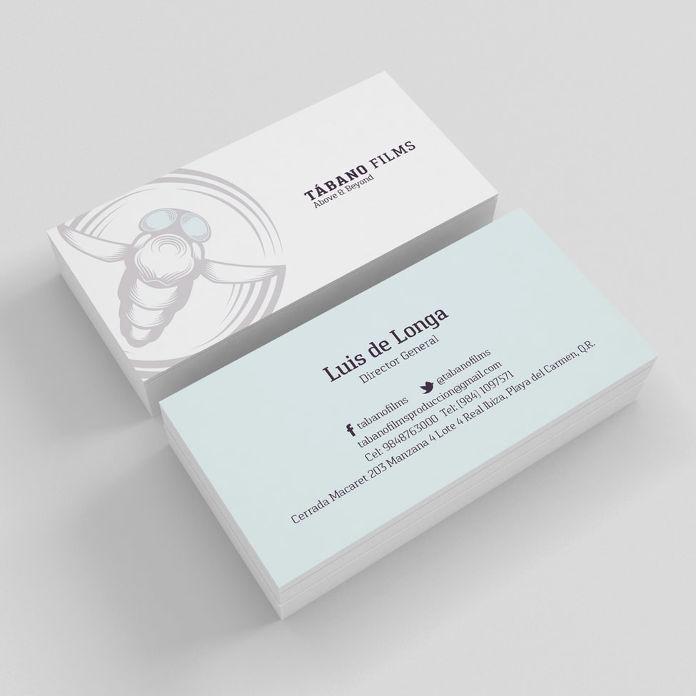 tabano-business cards