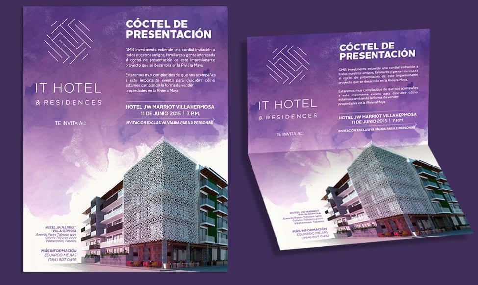 IT Hotel & Residences - Invitación