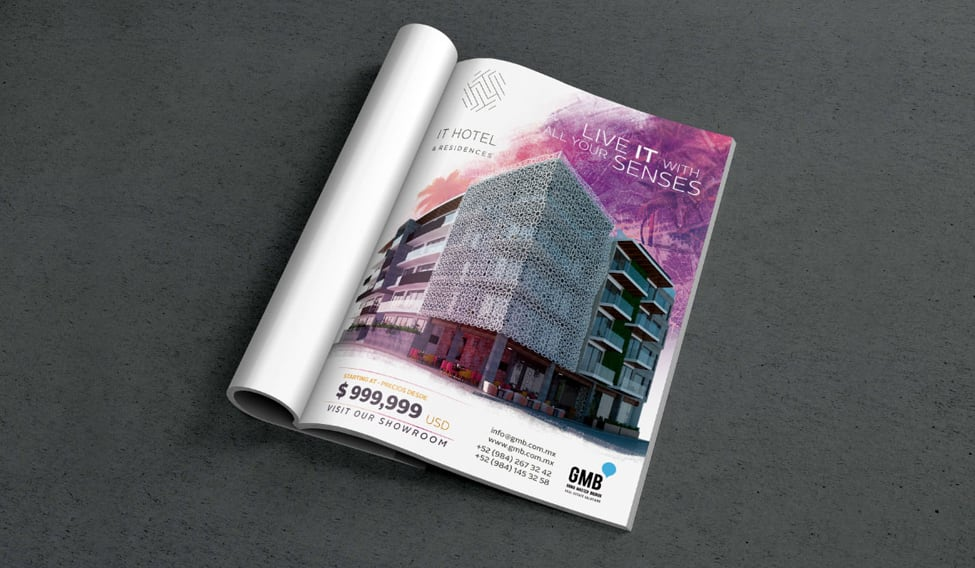 IT Hotel & Residences - Anuncio revista