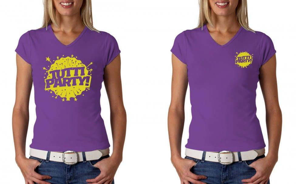 Tutti Party T-shirts