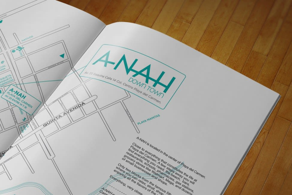 brochure-3 A-nah Downtown