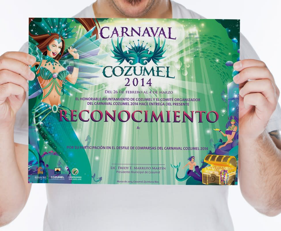 Reconocimiento Carnaval Cozumel 2014