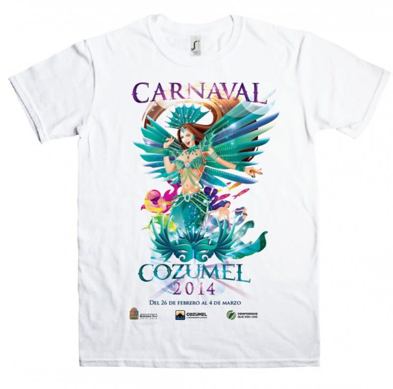 Playera Carnaval Cozumel 2014