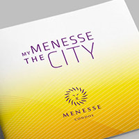 Portada brochure My Menesse The City