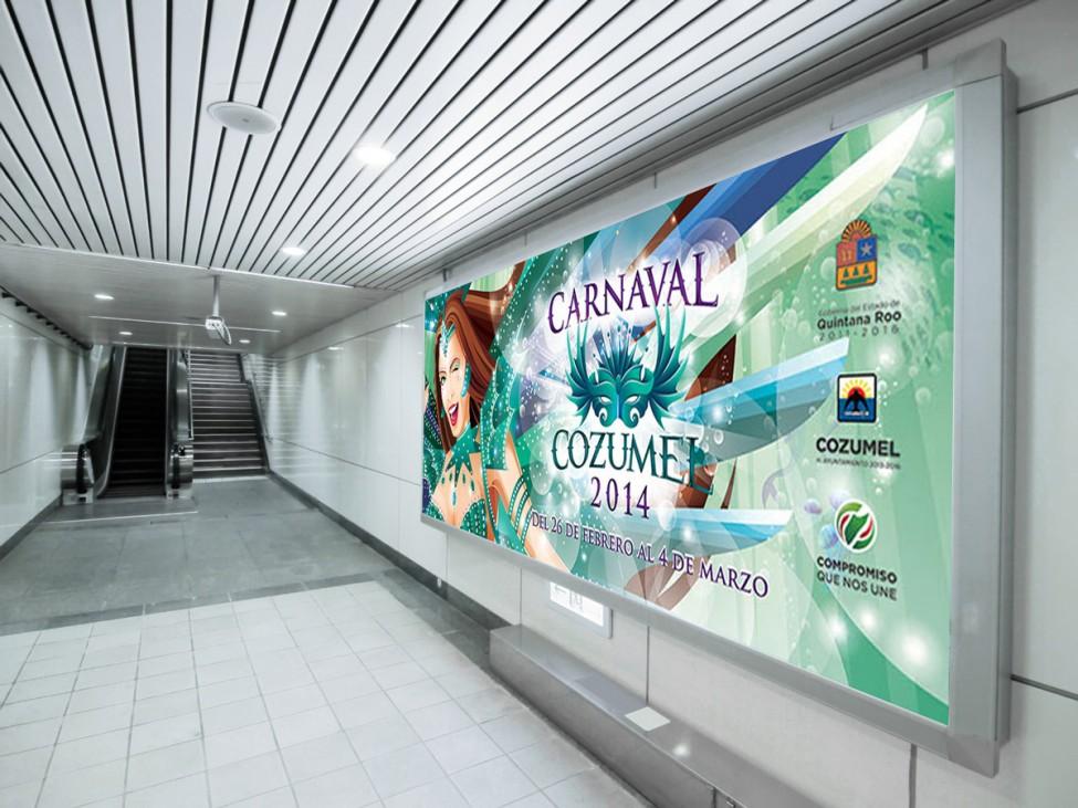 Espectacular Carnaval Cozumel 2014