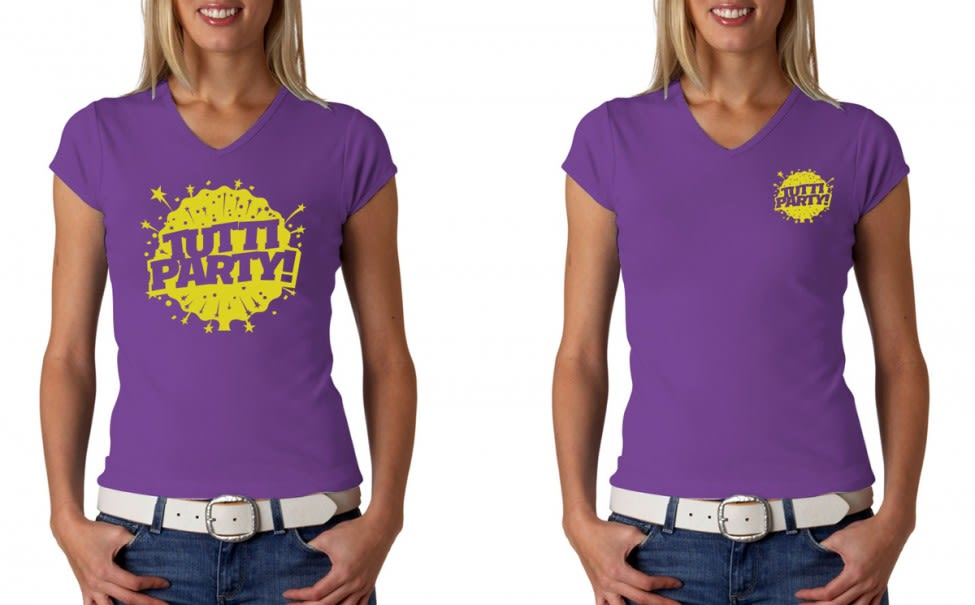 Tutti Party T-shirts