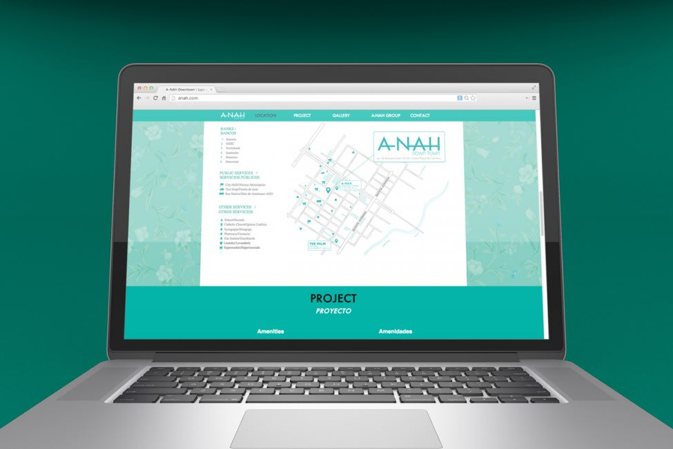A-Nah Downtown - Sitio web