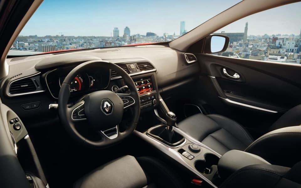 Interiøret i Renault Kadjar er sportslig, men raffinert