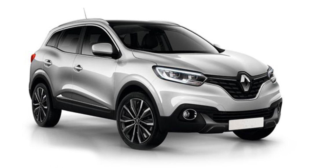 Renault Kadjar i fargen Grå Platine