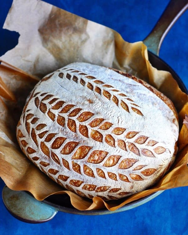 Pâine albă cu maia