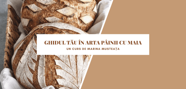 Curs de pâine artizanală cu frământare minimă