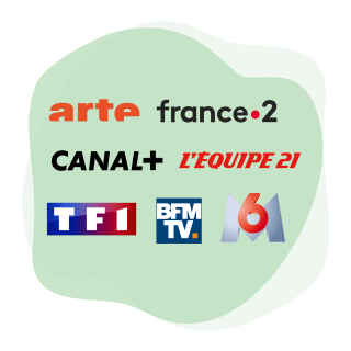 Stream French TV channels with a VPN.