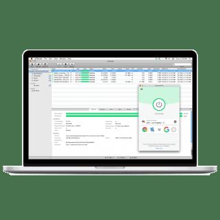 Download files using uTorrent with ExpressVPN.