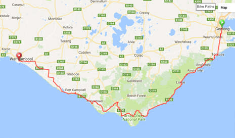 The Journey: Geelong to Warrnambool